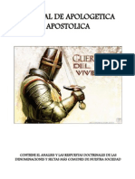 Manual de Apologetica Apostolica
