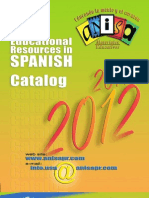 Educational Resources in Spanish 2012 Catalog