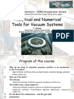 Analytical and Numerical Kersevan