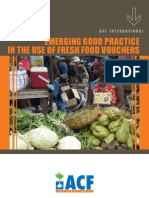 Emerging Good Practice in the Use of Fresh Food Vouchers