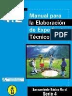 Manual Para Expedientes Tecnicos