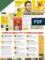 Claudir dos Santos Vereador - 13777