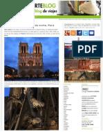 La Catedral de Notre Dame Paris Blog de Viajes Pasaporteblog