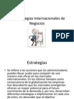 Las Estrategias Internacionales de Negocios Clase 3