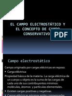 El campo electrostático y el concepto de campo