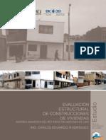 EVALUACIÓN ESTRUCTURAL DE CONSTRUCCION DE VIVIENDAS MIRR 2010
