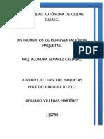 PROCESO DE MAQUETAS