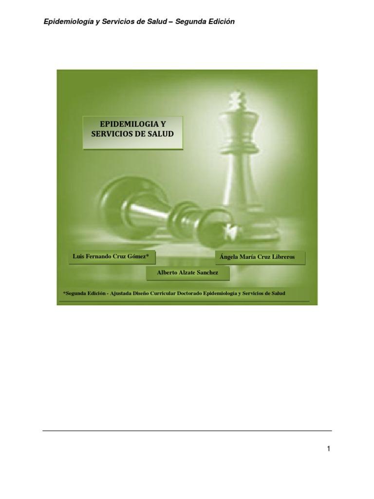 Libro Epidemiología y Servicios Segunda Edición