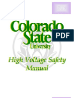 High Voltage Safety Manual