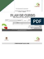 Formato de Plan de Curso 2012 - 2013