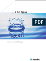 Analisis de Agua-Control de Calidad Del Agua