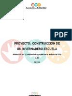 Proyecto Construccion Invernadero Mexico 2006