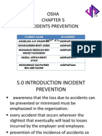 Causes of Incident