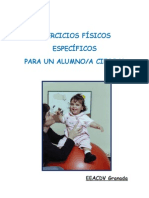 EJERCICIOS FÍSICOS ESPECÍFICOS PARA UN ALUMNO/A CIEGO/A