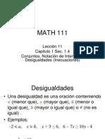 Leccin 11 Conjuntos Notacin de Intervalos y Desigualdades 14 1225394072121555 8