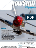 Air Show Stuff Magazine - Aug 2009