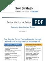 Better Metrics
