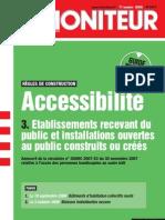 3 - Etablissements recevant du public et installations ouvertes au public construits ou créés