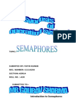 Operating System Sinopsis