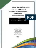 Istalacion SQL Server 2008