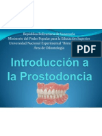 Introducción a la Prostodoncia