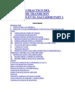 Ejercicio Practico Del Proceso de Transicion Niifpymes en El Salvador Part 1