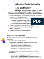 9 Social Stratification