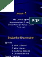 Lesson 6 Cerv Spine 2006 Update for Website