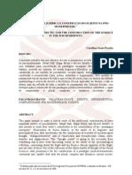 CONPEDI - 2008.02 - HERMENÊUTICA JURÍDICA E CONSTRUÇÃO DO SUJEITO NA PÓSMODERNIDADE