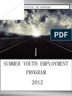 summer youth employment programs