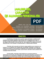 Analisis del carácter de algunos Personajes_TDVI_Sección B_PDF