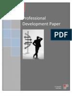 Professional Development Paper