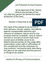 Bill of Rights (Memo Cards)