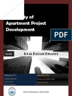 Feasibility of Apartment Development Project (Real Estate) in Bangladesh