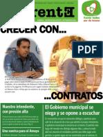 De Frente. Revista N° 2. Publicación partidaria del Frente Todos por Río Tercero