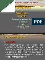PRESENTACIÓN GENESIS DE LA ELECTROQ.  2012