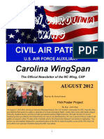 North Carolina Wing - Aug 2012