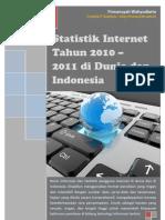 Statistik Internet Tahun 2010-2011 Di Dunia Dan Indonesia
