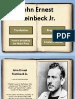 John Steinbeck Ppt Report!