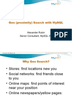 Mysql Geo Search