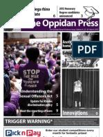 The Oppidan Press - Edition 4 - 2012