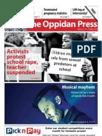The Oppidan Press - Edition 5 - 2012