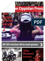 The Oppidan Press - Edition 6 - 2012
