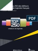 Syntec numérique / Panorama Top250 éditeurs 2012