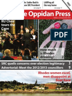 The Oppidan Press - Edition 7 - 2012