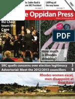 The Oppidan Press - Edition 7 - 2012