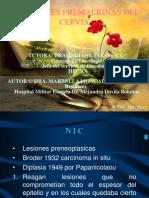 Afecciones Premalignas de Cervix