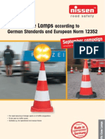 Aktionsflyer Leitkegelleuchte Englisch Screen