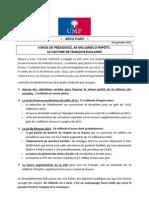 2012-09-18 - Argumentaire Ump - Facture Hollande