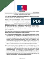 2012-09-07 - Argumentaire Ump - Emploi